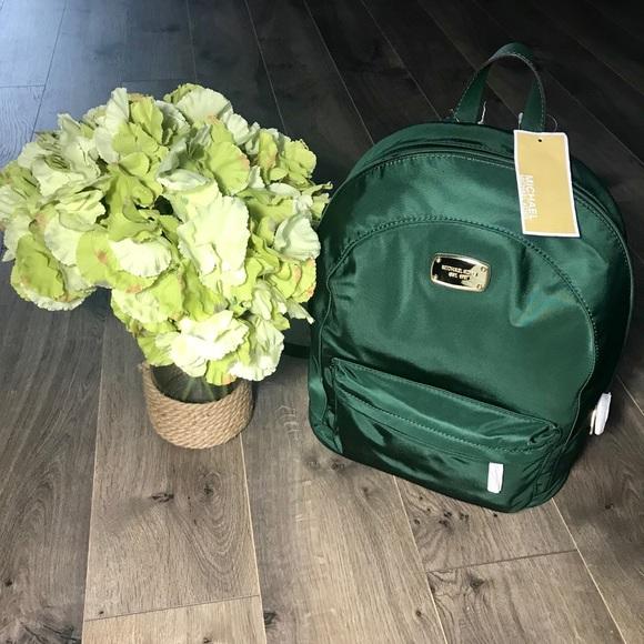 caaf1535b00b Michael Kors Bags   Jet Set Lg Back Pack Green Moss   Poshmark
